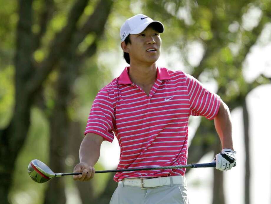 Anthony Kim says he's been frustrated with the way he's played since he won in Houston last year. Photo: J. Pat Carter/Associated Press