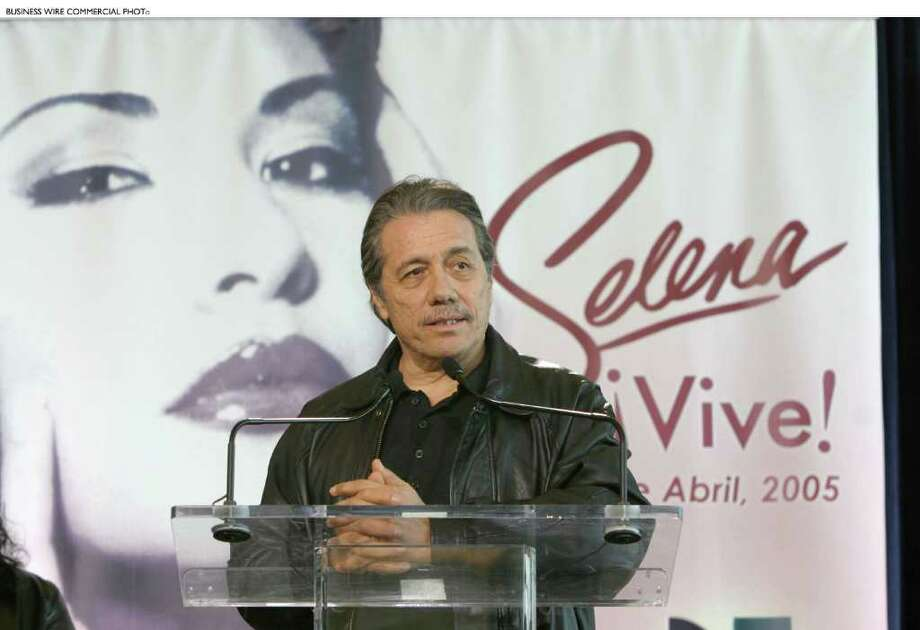 """""""Selena"""" and """"Battlestar Galactica"""" star Edward James Olmos is in San Antonio this weekend. Photo: BW / Univision Network"""
