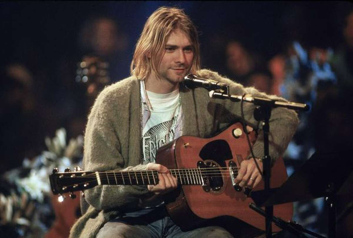 Singer Kurt Cobain.