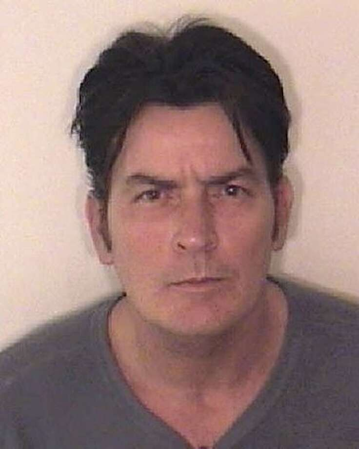 Charlie Sheen is a mug shot from the Aspen Police Department on December 25, 2009. Sheen was charged with second degree assault, menacing and criminal mischief. Photo: Getty Images / Getty Images