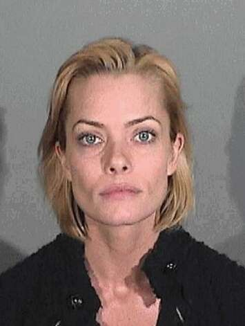 Actress Jaime Pressly is seen in a booking photo from the Santa Monica Police Department on January 6, 2011. Pressly was arrested for suspicion of driving under the influence of alcohol. Photo: Getty Images / Getty Images