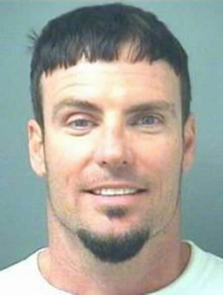 Robert Van Winkle, AKA Vanilla Ice, poses for a mug shot for the Palm Beach County Sheriff's Office