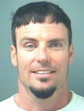 Robert Van Winkle, AKA Vanilla Ice, poses for a mug shot for the Palm Beach County Sheriff's Office on April 10, 2008. Ice was arrested for investigation of assaulting his wife. Photo: Getty Images / Getty Images