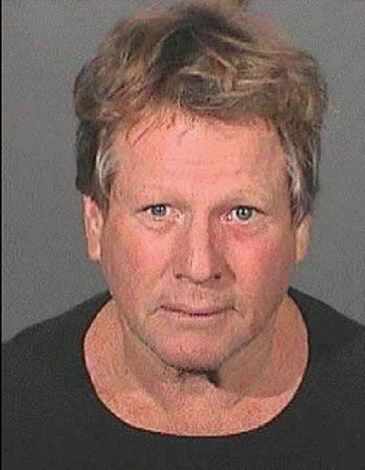 Actor Ryan O'Neal is pictured in a mug shot by Los Angeles County Sheriffs Department on September 17, 2008. O'Neal and his son were arrested on suspicion of drug possession. Photo: Getty Images / Getty Images