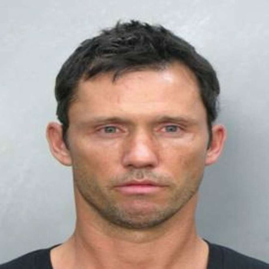 """Burn Notice"" actor Jeffrey Donovan poses for a photo for the Miami Beach Police Department. He was arrested on suspicion of drunken driving after being pulled over July 12, 2009 and failing a field sobriety test. Photo: Getty Images / Getty Images"