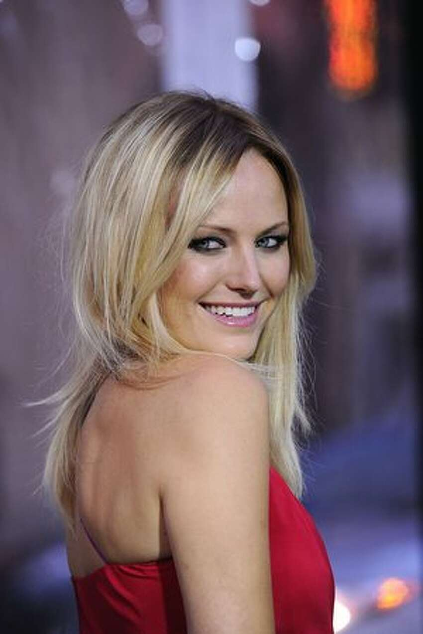 Actress Malin Akerman arrives at the premiere of Warner Bros Pictures'