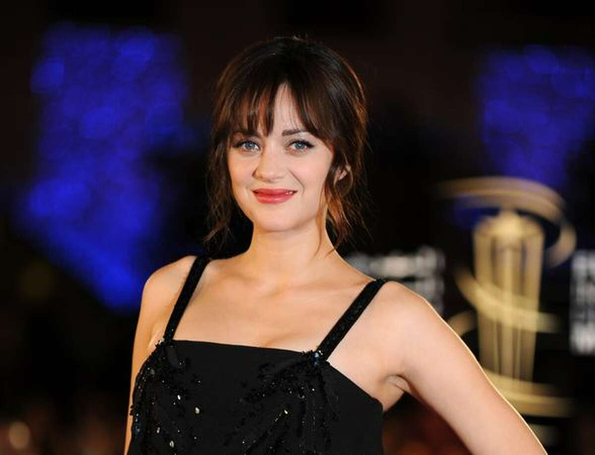 """""""Inception"""" star Marion Cotillard and her director husband, Guillaume Canet, are expecting for the first time."""