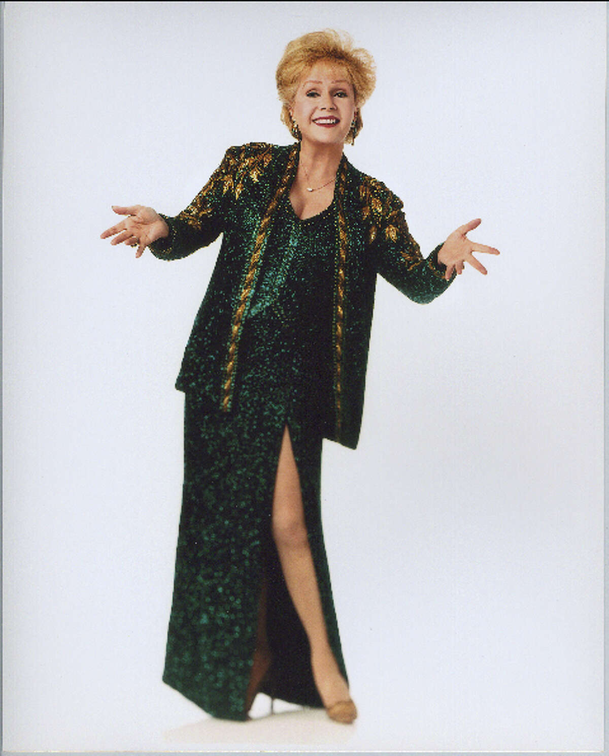 Debbie Reynolds will be fielding questions about her long career in Hollywood at the Edgerton Center on the campus of Sacred Heart University on Sunday, April 10.