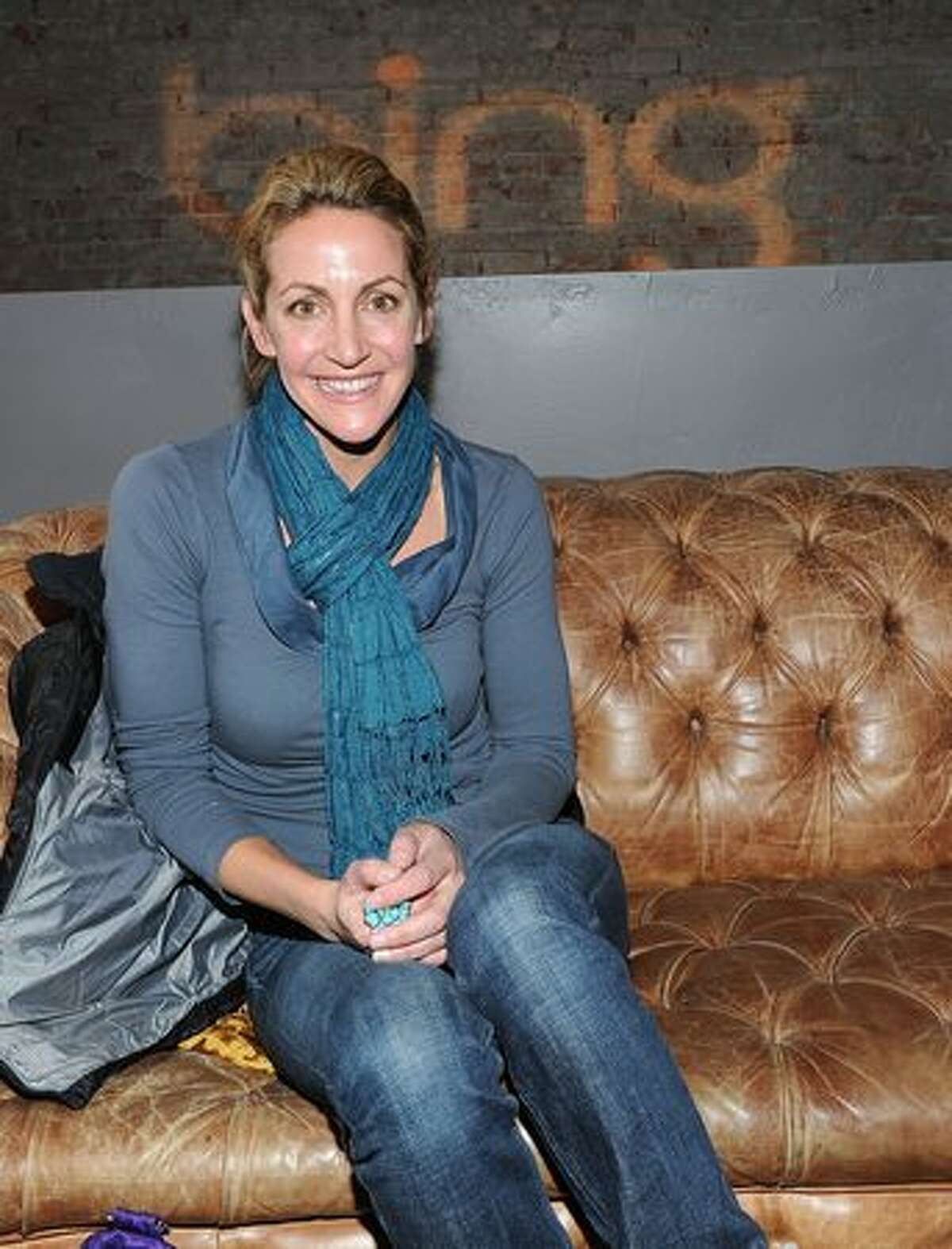 Television personality Summer Sanders attends the Bing Bar on January 21, 2011 in Park City, Utah.