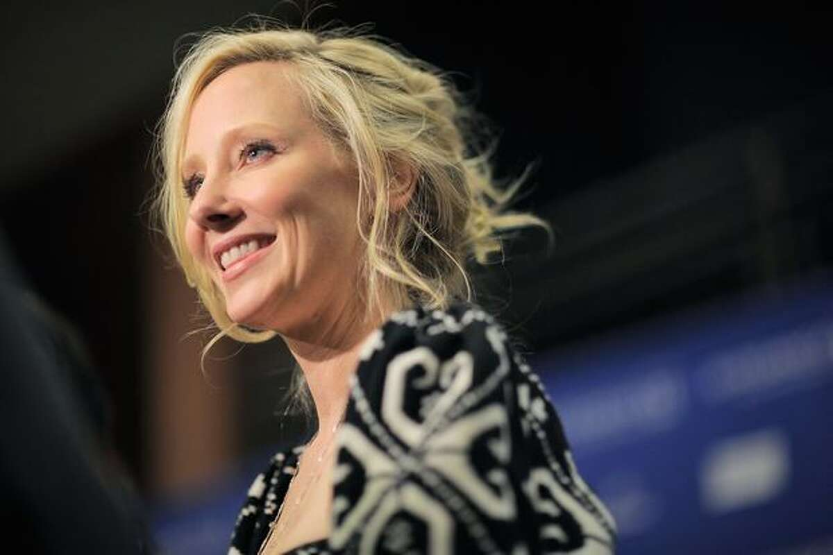 Actress Anne Heche attends the