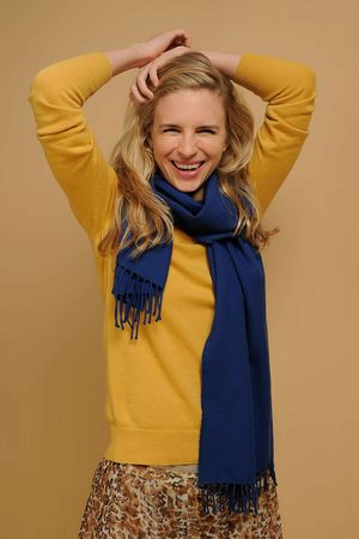 Writer Brit Marling poses for a portrait during the 2011 Sundance Film Festival at The Samsung Galaxy Tab Lift on January 25, 2011 in Park City, Utah.