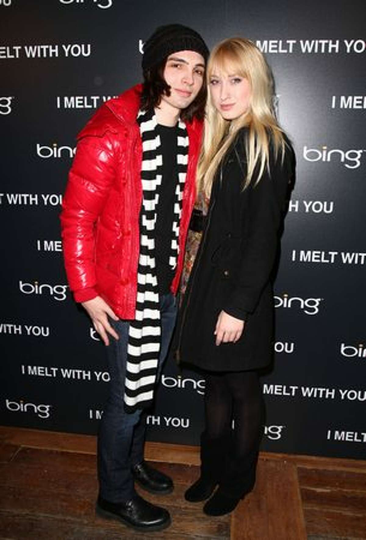 Actors August Emerson and Danna Maret attend the Bing Presents the