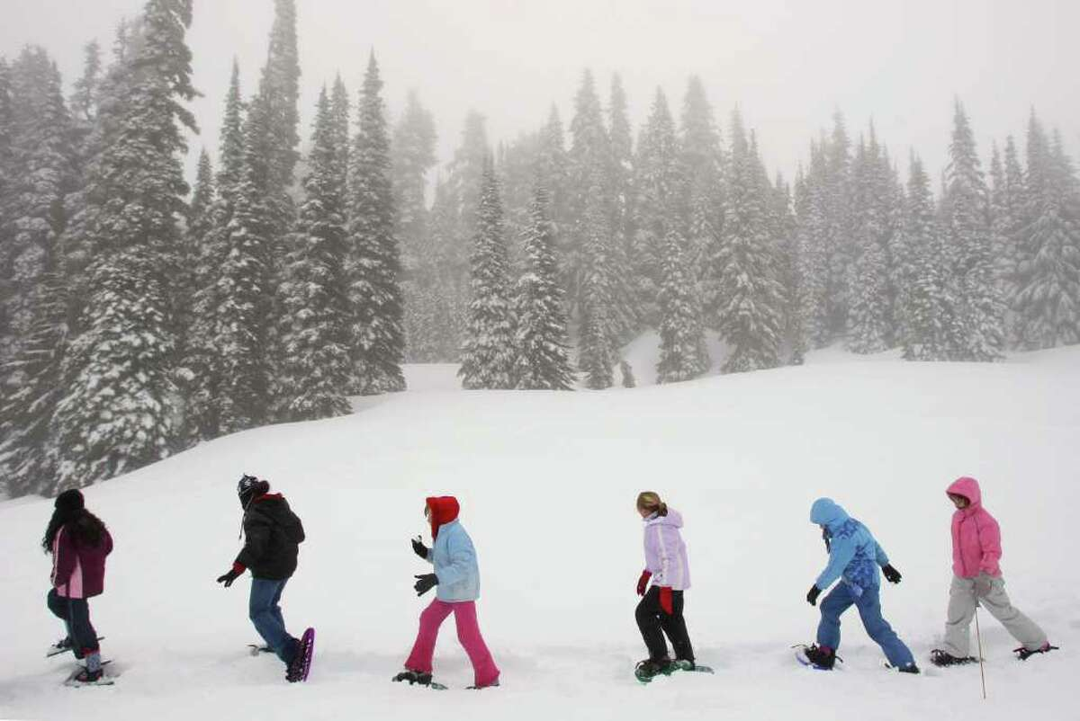 Mount Rainier, WA Average of 646.5 inches of snow per year for the past 30 yearsSource:weather.com