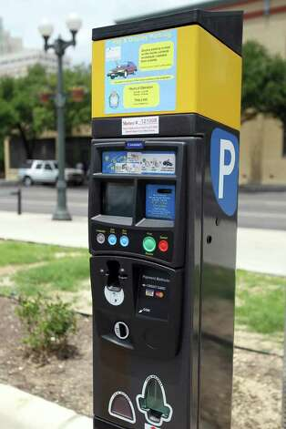 The new parking pay stations won for best new parking enhancement. Photo: Jennifer Whitney, Special To The Express-News / spoecial to the San Antonio Express-News