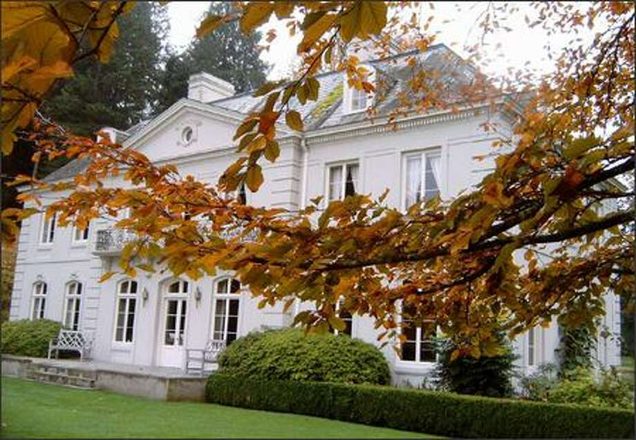The Bloedel Reserve visitor center was once the home of the Bloedel family, who donated the 150-acre property to the public in 1970. The reserve on Bainbridge Island acontains around two miles of trail in a hushed setting that includes wilderness, ponds, gardens and exotic plants. (Karen Sykes / Seattle P-I)