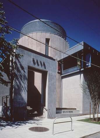 Frye Art Museum, rotunda and entrance 1997.