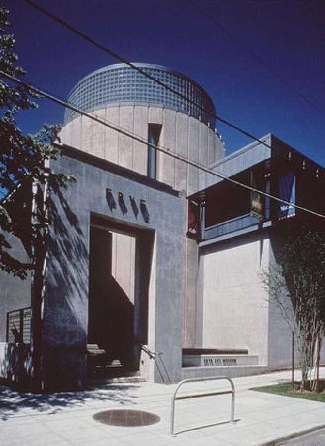 Frye Art Museum, rotunda and entrance 1997.