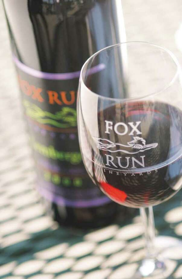 Fox Run Vineyards wine from the western shore of Seneca Lake. (Times Union archive) Photo: Richard Lovrich / ALBANY TIMES UNION