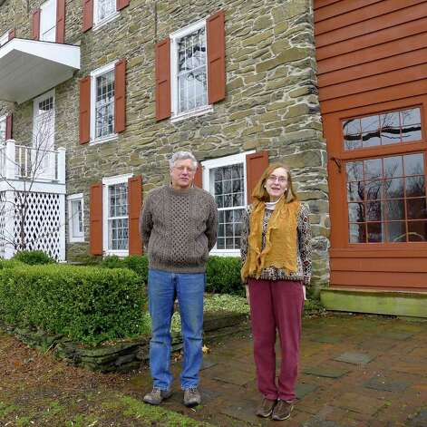 Paul and Sylvia Lawler outside their home of 25 years in Coeymans, NY, on Friday April 1, 2011. ( Michael P. Farrell/Times Union ) Photo: Michael P. Farrell / 00012611A