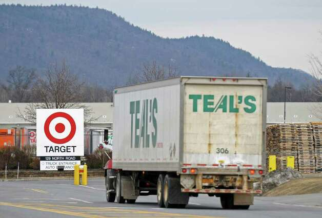 A tractor trailer approaches the Target distribution center on Thursday, March 31, 2011, in Wilton, NY.  ( Philip Kamrass/ Times Union ) Photo: Philip Kamrass