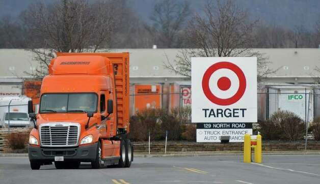 A tractor trailer departs from the Target distribution center on Thursday, March 31, 2011, in Wilton, NY.  ( Philip Kamrass/ Times Union ) Photo: Philip Kamrass