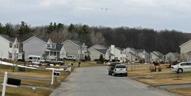View of homes in the Westbrook development on Thursday, March 31, 2011, in Wilton, NY.  ( Philip Kamrass/ Times Union ) Photo: Philip Kamrass