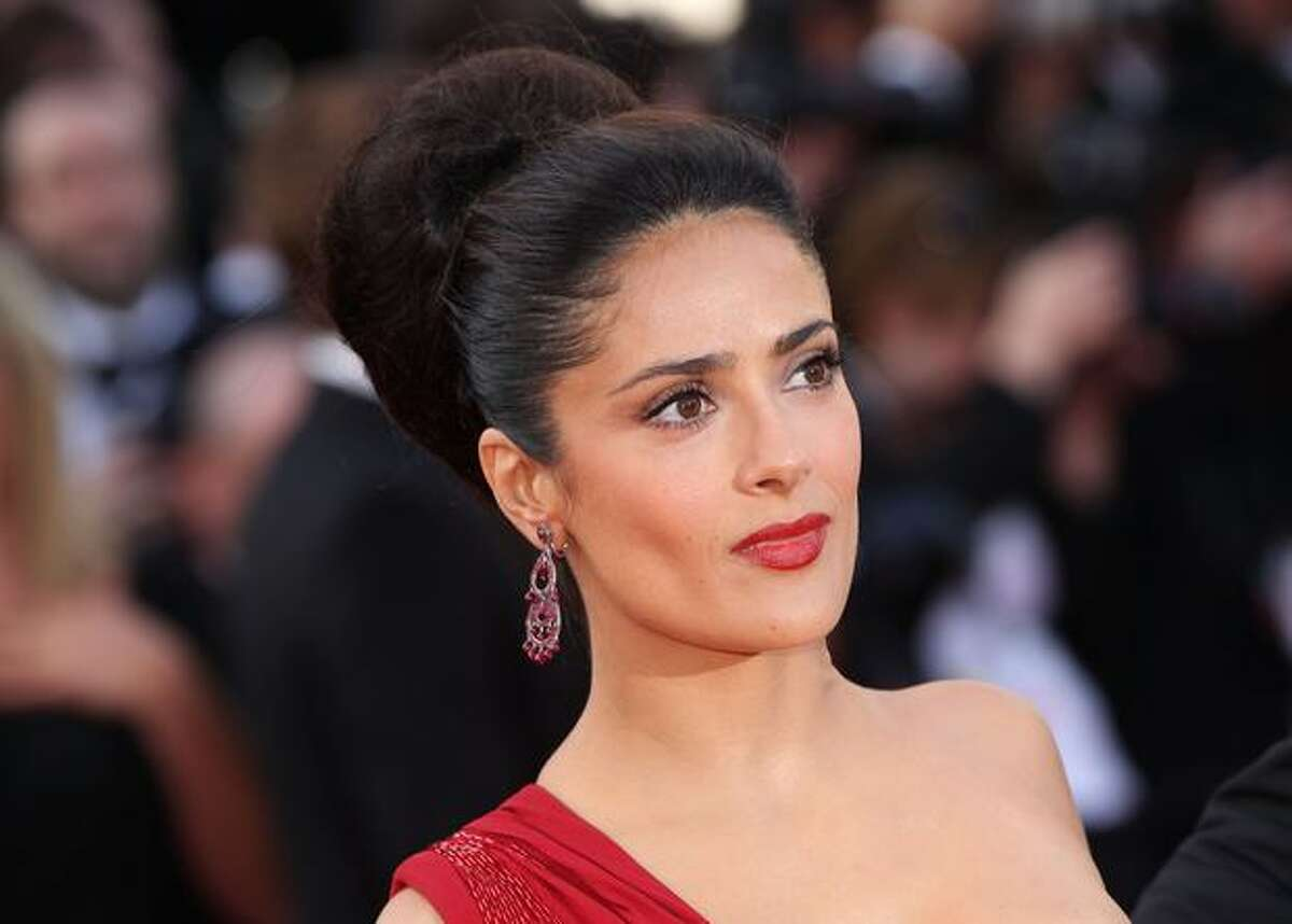 Actress Salma Hayek attends the