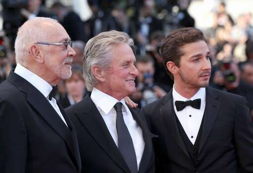 "Actors Frank Langella, Michael Douglas and Shia LaBeouf attend the ""Wall Street: Money Never Sleeps"" Premiere at the Palais des Festivals during the 63rd Annual Cannes Film Festival on May 14, 2010 in Cannes, France. Photo: Getty Images / Getty Images"