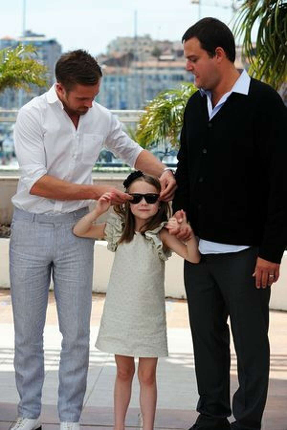 Actor Ryan Gosling, actress Faith Wladyka and producer Jamie Patricof attend the