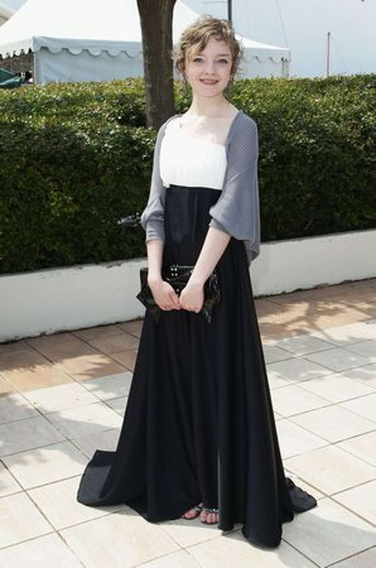 Actress Olga Shuvalova attends the