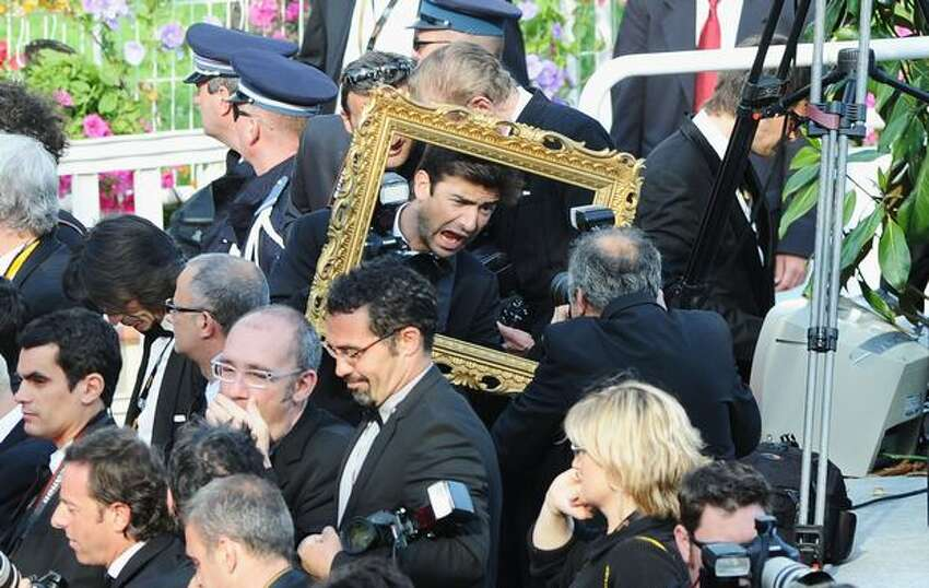 CANNES, FRANCE - MAY 22: Atmosphere during the