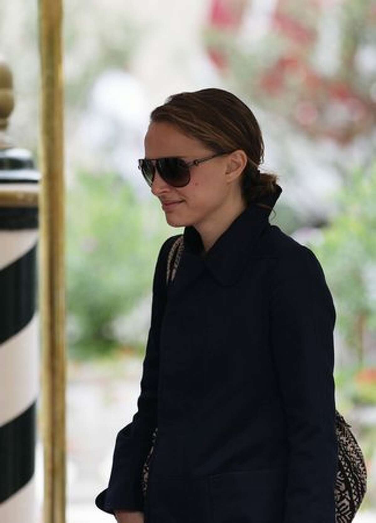 Actress Natalie Portman sighting at the 67th Venice Film Festival in Venice, Italy.