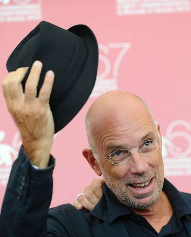 "Italian film director Gabriele Salvatores poses during the photocall of ""1960"" at the 67th Venice Film Festival at Venice Lido on Sunday, Sept. 5, 2010. ""1960"" is presented out of competition. Photo: Getty Images / Getty Images"