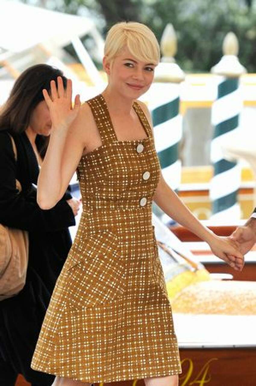 Actress Michelle Williams attends the 67th Venice Film Festival on Monday in Venice, Italy.