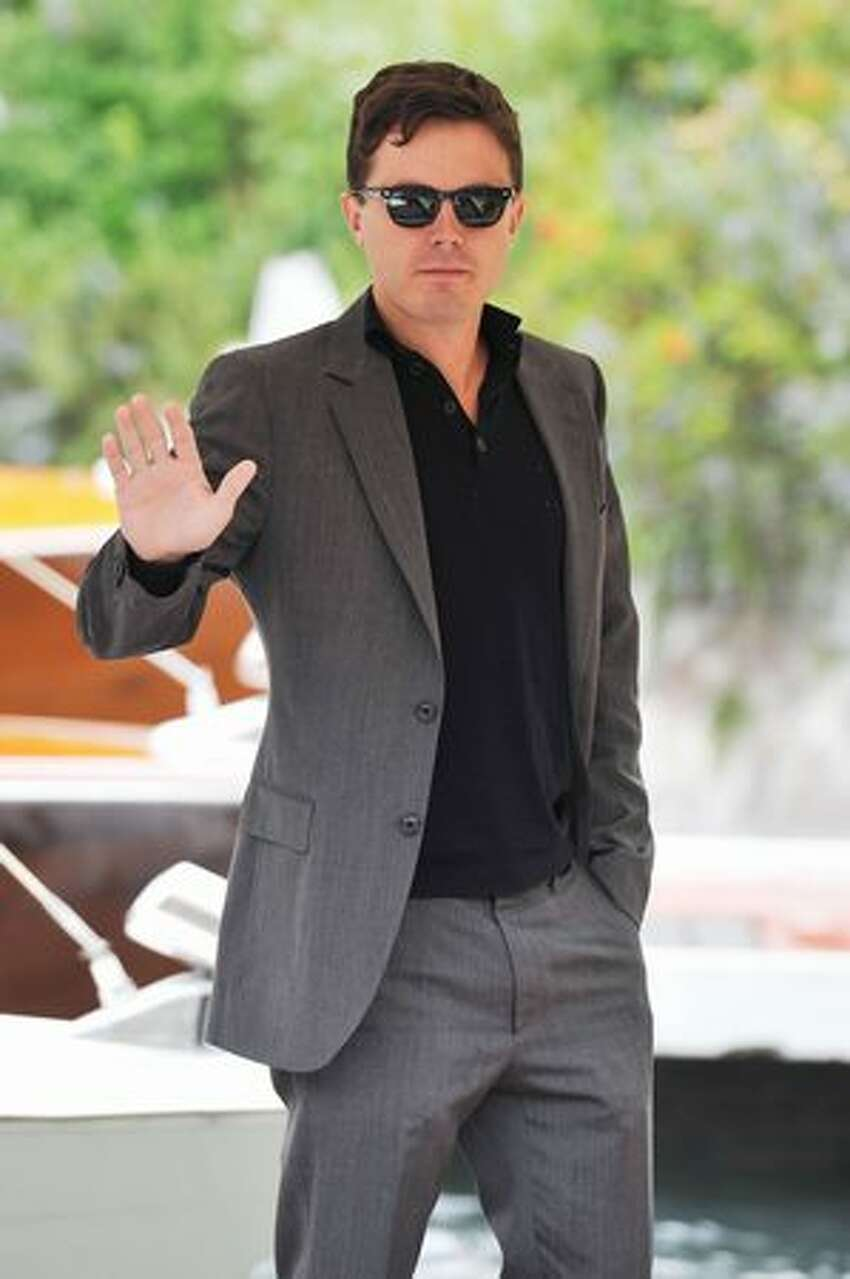 Actor Casey Affleck attends the 67th Venice Film Festival on Monday in Venice, Italy.