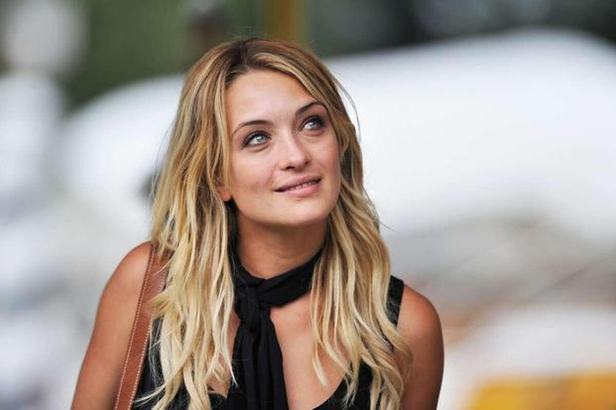 Carolina Crescentini attends the 67th Venice Film Festival in Venice, Italy.