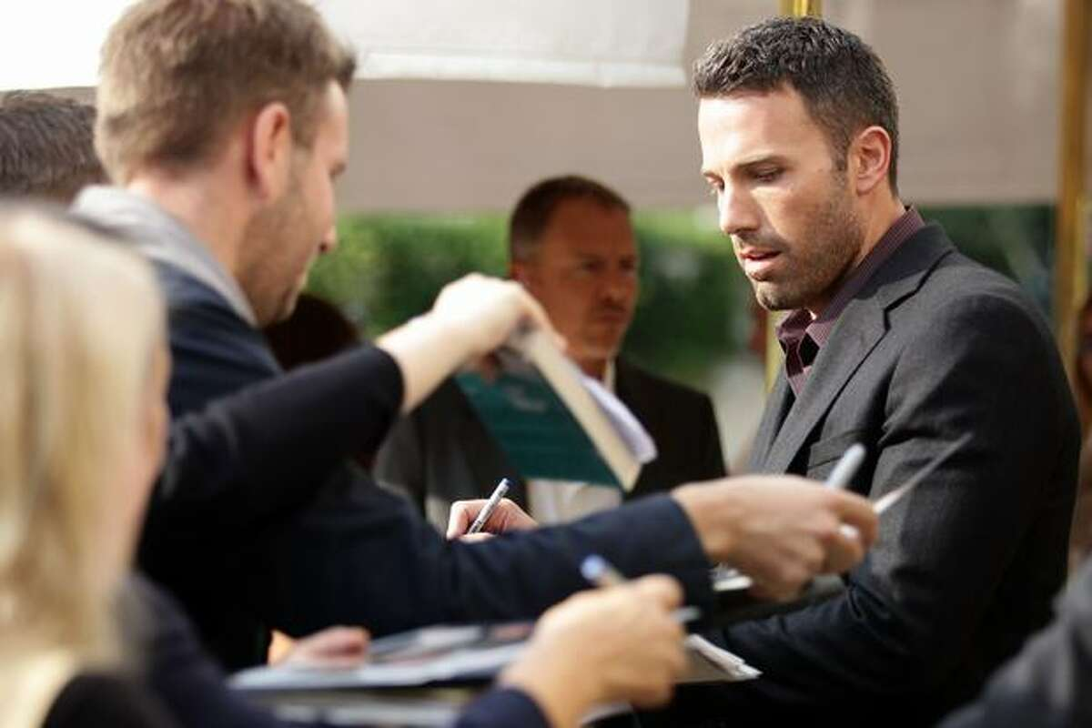 Actor Ben Affleck attends the 67th Venice Film Festival in Venice, Italy.