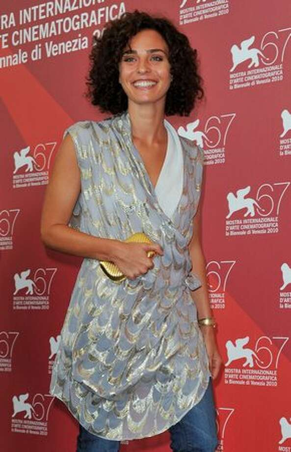 """Actress Valentina Bardi attends the """"Sorelle Mai"""" photocall during the 67th Venice Film Festival at the Palazzo del Casino in Venice, Italy on Wednesday, Sept. 8, 2010. Photo: Getty Images / Getty Images"""