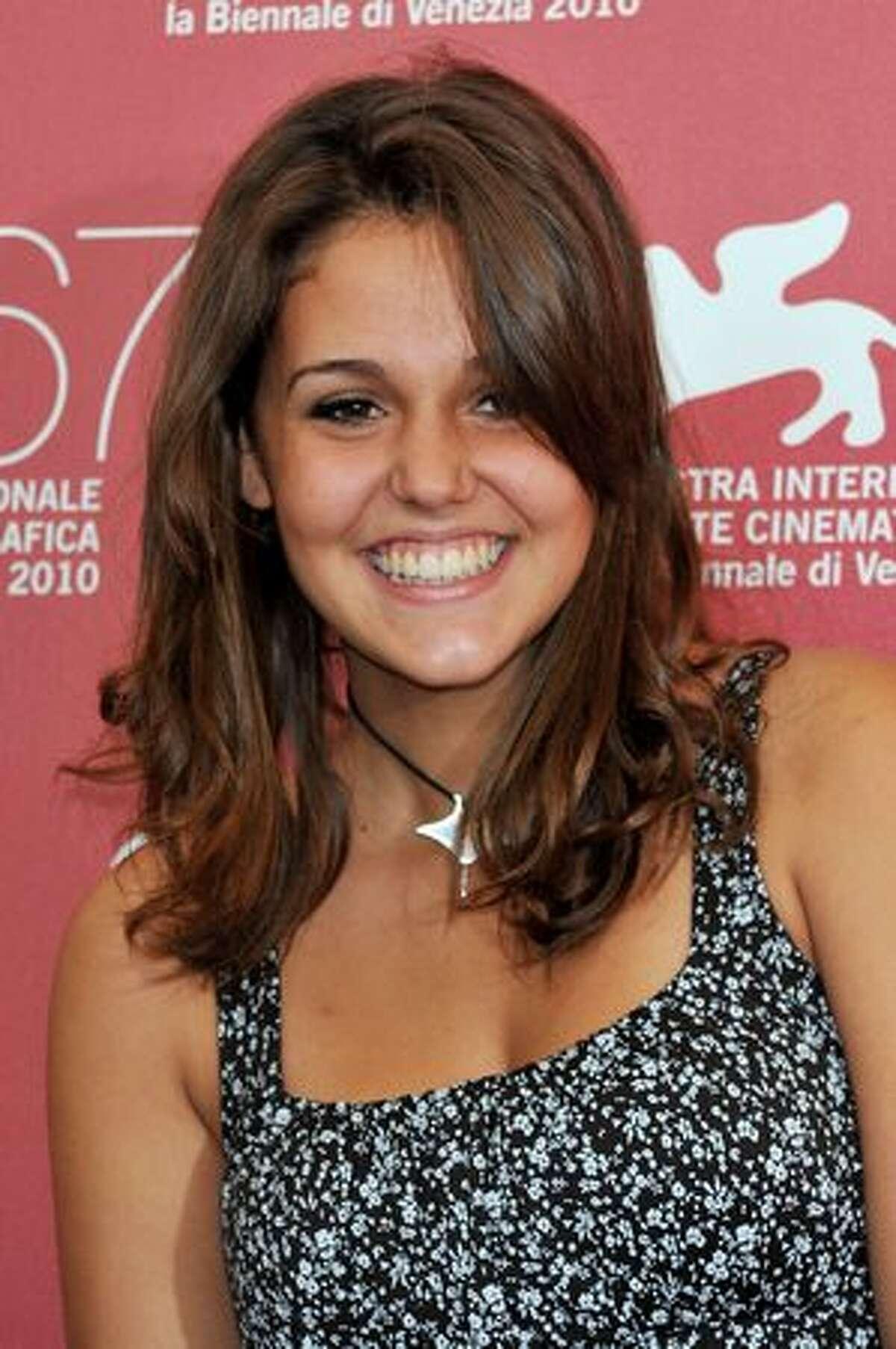 Actress Elenea Belocchio attends the