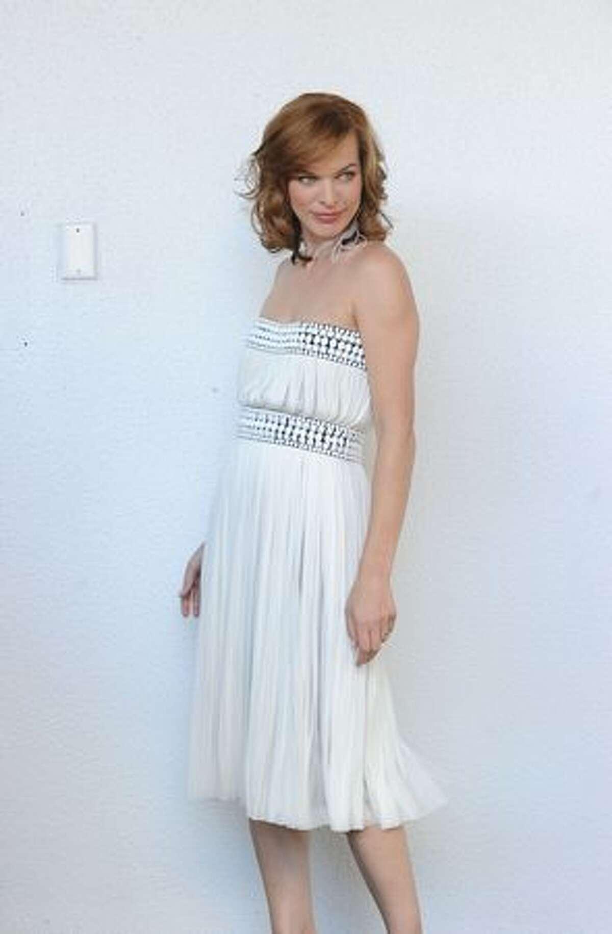 Actress Milla Jovavich attends