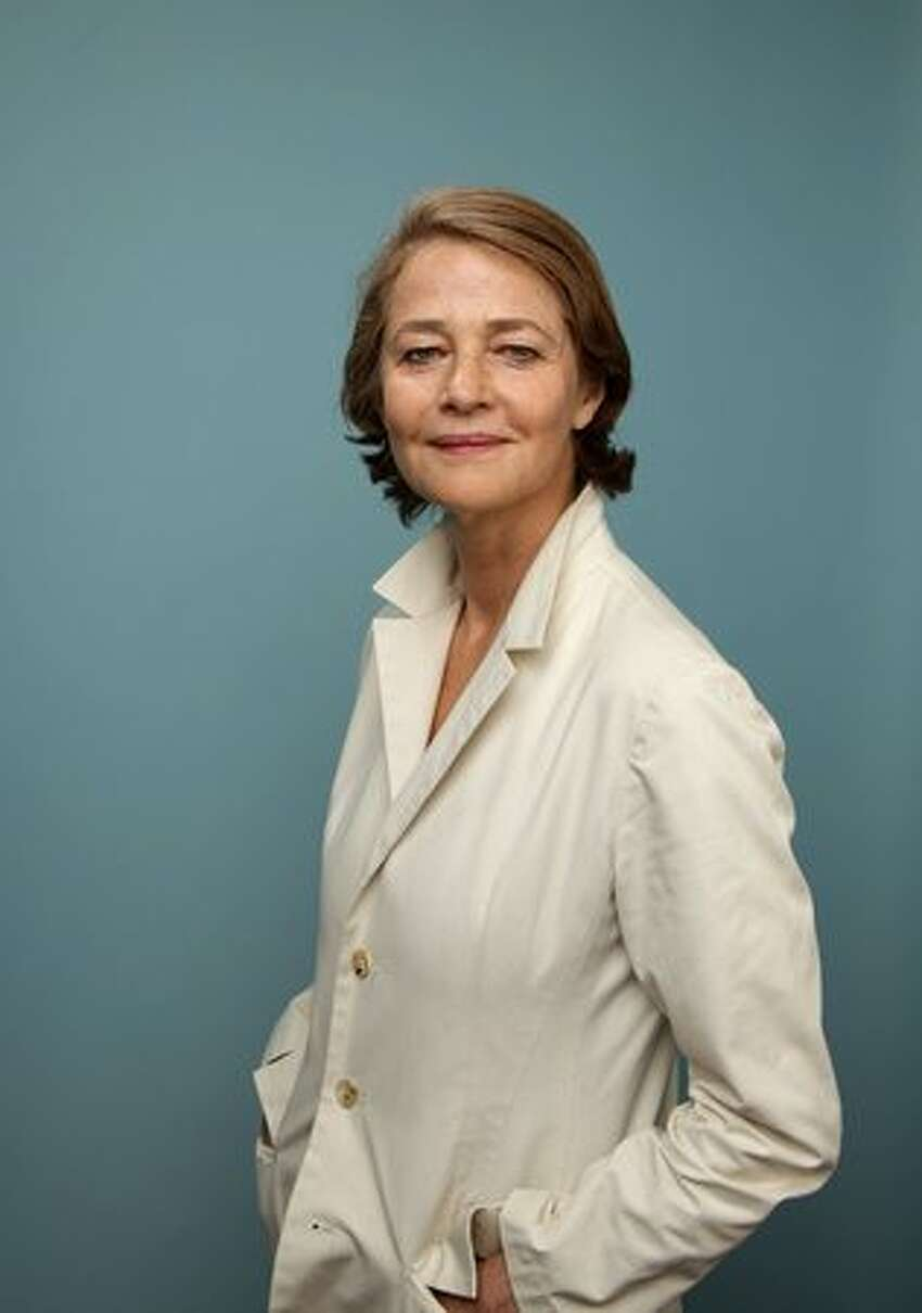 Actress Charlotte Rampling from