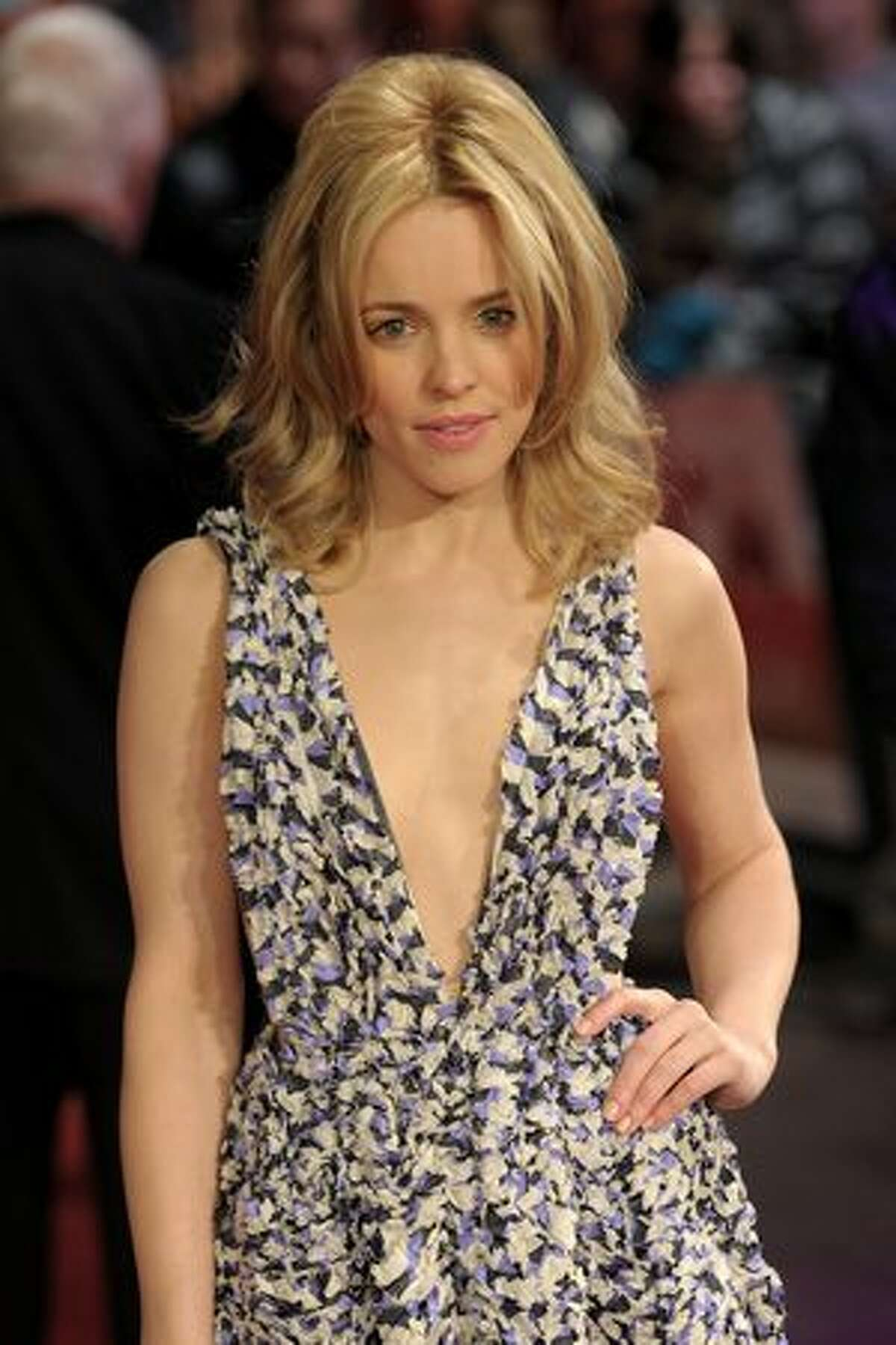 LONDON, ENGLAND - Actress Rachel McAdams attends the 'Morning Glory' UK premiere at the Empire Leicester Square on Tuesday in London, England.