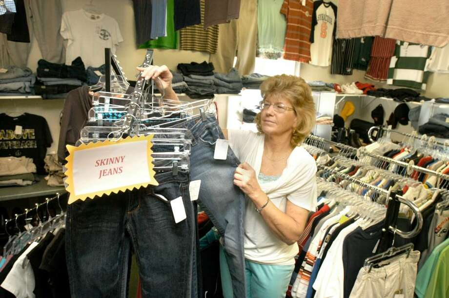 Diane Kozenieski, 56, of Danbury is the owner of Such A Deal, a consignment shop in Danbury. Photo taken Friday September 4, 2009. Photo: Carol Kaliff / The News-Times
