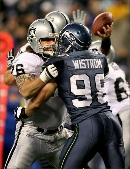 Grant Wistrom Seahawks Player Grant Wistrom