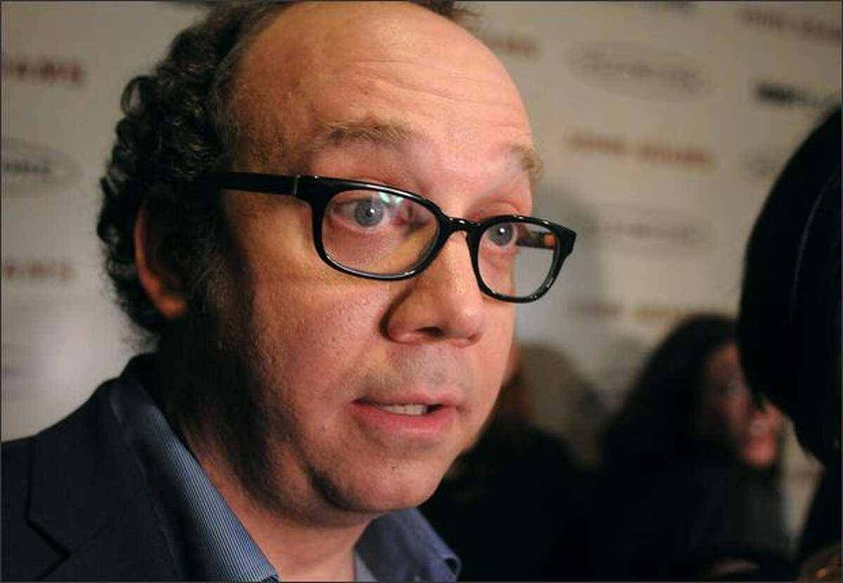 Actor Paul Giamatti arrives at the HBO premiere of