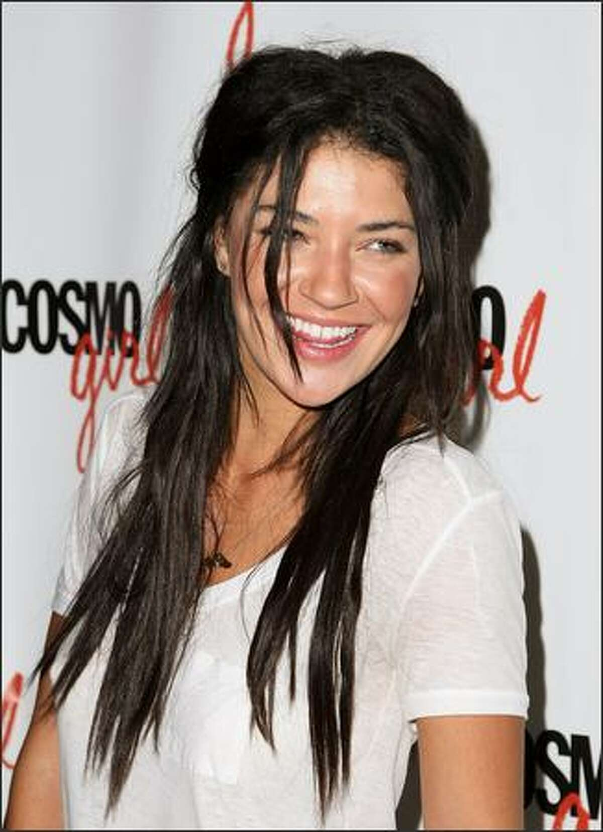 Actress Jessica Szohr attends Columbia Picture/Happy Madison's screening of