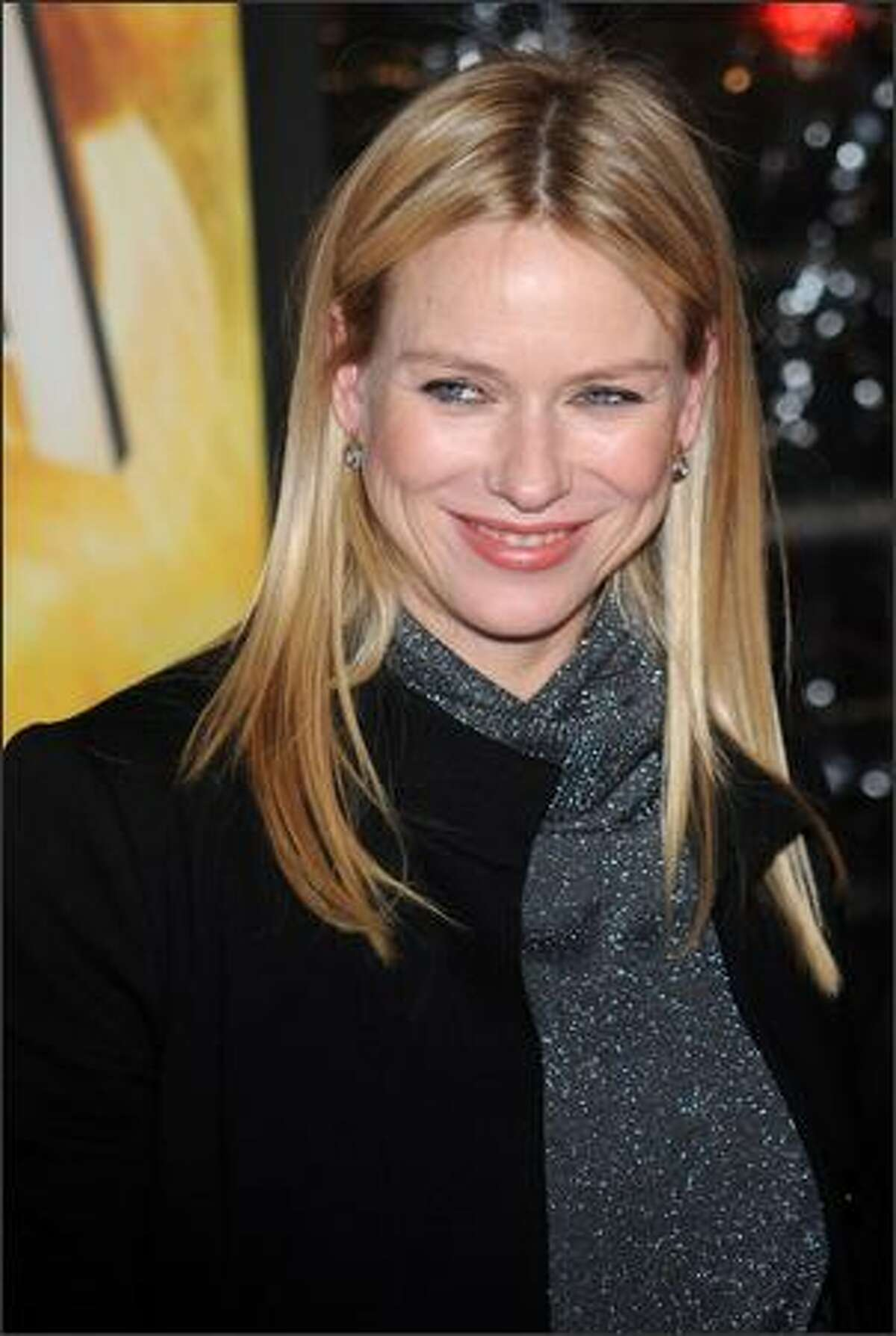 Naomi Watts attends the New York premiere of