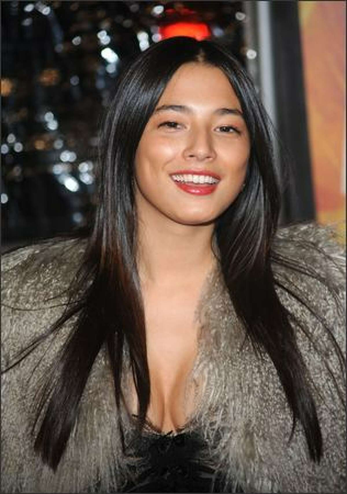 Jessica Gomez attends the New York premiere of