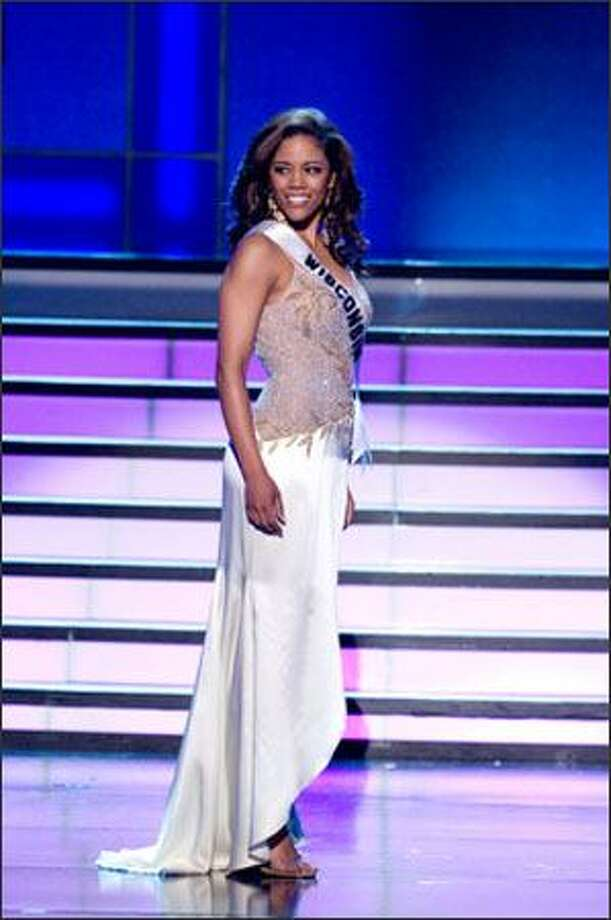 Michelyn Cynthia Butler, Miss Wisconsin USA 2008. Photo: Miss Universe L.P., LLLP / Miss Universe L.P., LLLP
