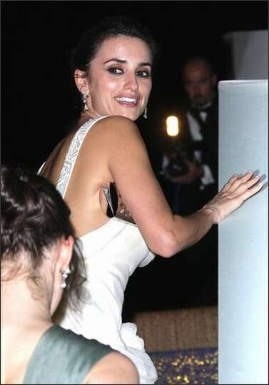 Penelope Cruz attends the Chopard Party.